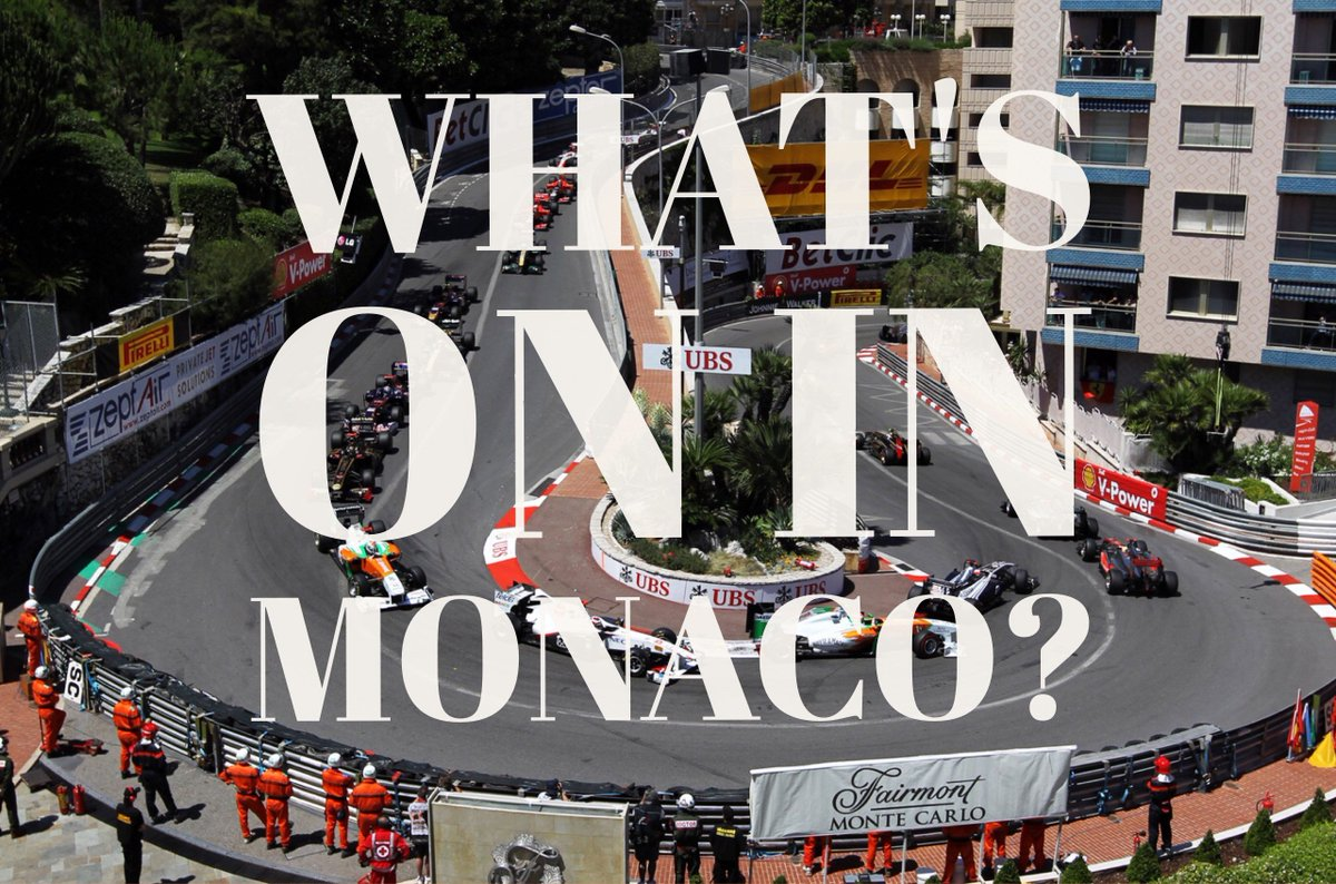 Are you in #Monaco for the most thrilling week of the year? Check out what&#39;s on &gt;  http://www. cityoutmonaco.com/whats-on-in-mo naco-22nd-28th-may/ &nbsp; …  #F1 #MonacoGP #CotedAzurNow<br>http://pic.twitter.com/JeX83IP05u
