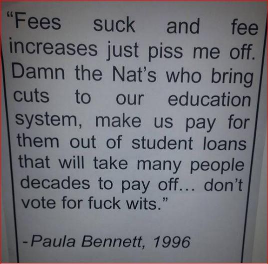 Paula Bennett likes tipping. She`s been providing tips since 1996. https://t.co/NxydUGvp5l