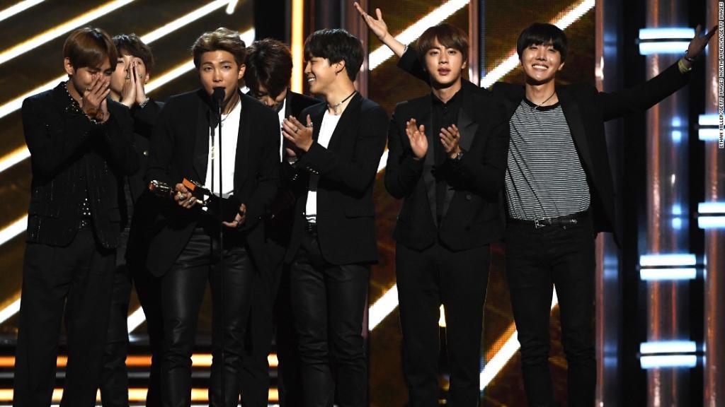 Bigger than Bieber? A Korean pop group beats US stars to win a Billboard Music Award https://t.co/ouZEWaUHy1 via