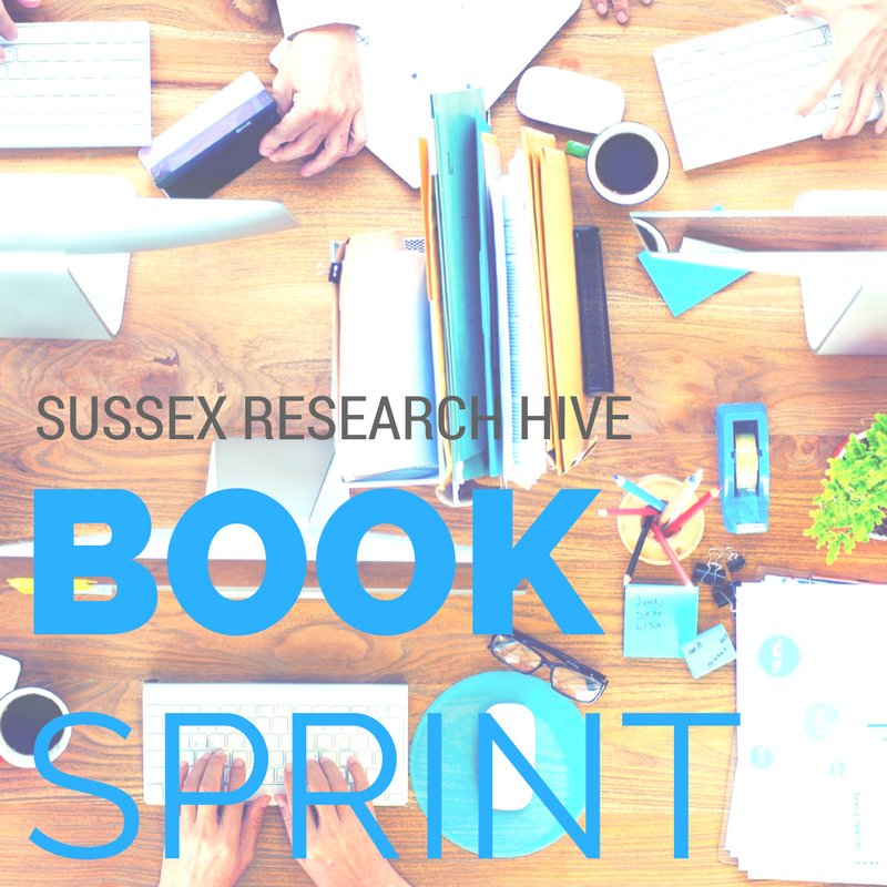 #hivebooksprint We selected 9 authors! Thanks everybody for your applications and your interest @sussexlibrary @SAGE_News @SussexDocSchool https://t.co/7sHJGsmGPY