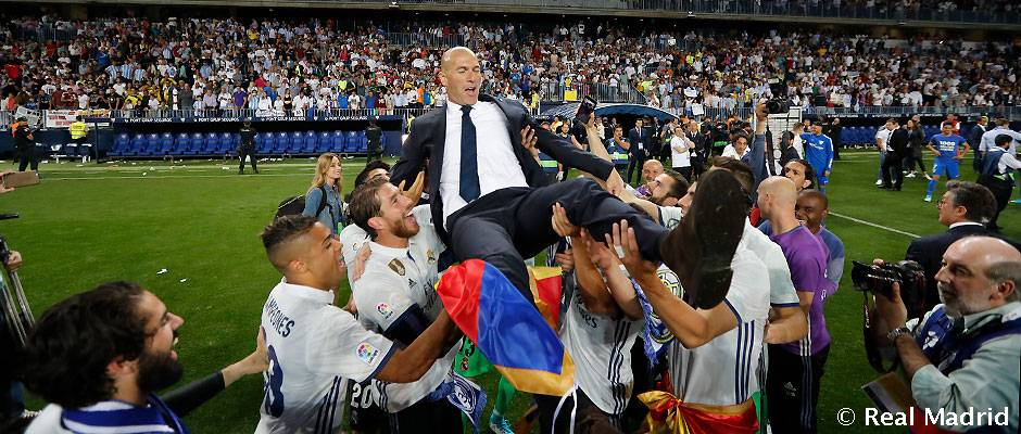 #Zidane: &quot;This is my happiest day as coach.&quot;    http:// bit.ly/Zidane_LaLiga_ title_win &nbsp; …   #33Ligas #HalaMadrid<br>http://pic.twitter.com/TyQb5o30Lj