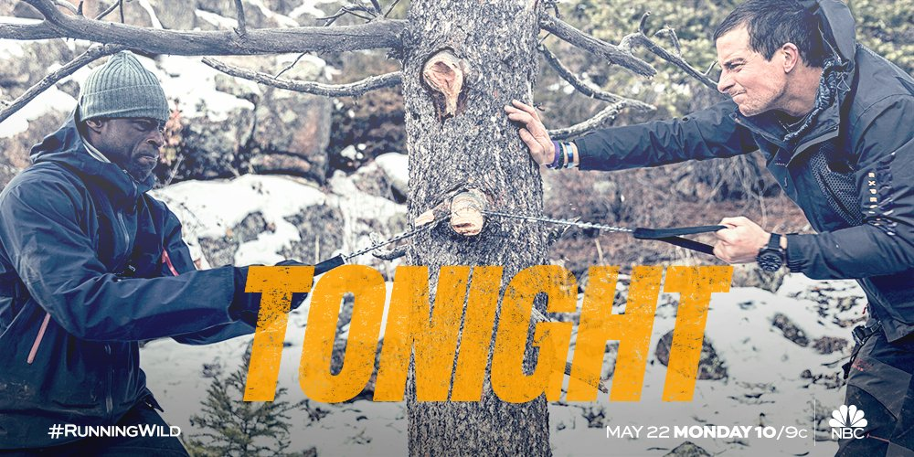 Can @sterlingkb1 conquer Colorado? Don't miss a brand new #RunningWild tonight at 10/9c on @NBC!