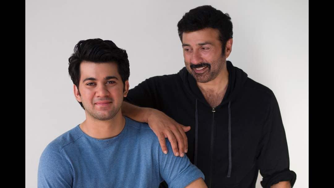 Karan Deol welcome to the Hindi film industry congrats @iamsunnydeol