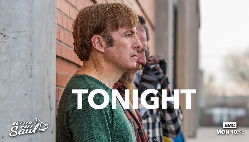 It's going to be a long day for Jimmy. Watch a new #BetterCallSaul ton...
