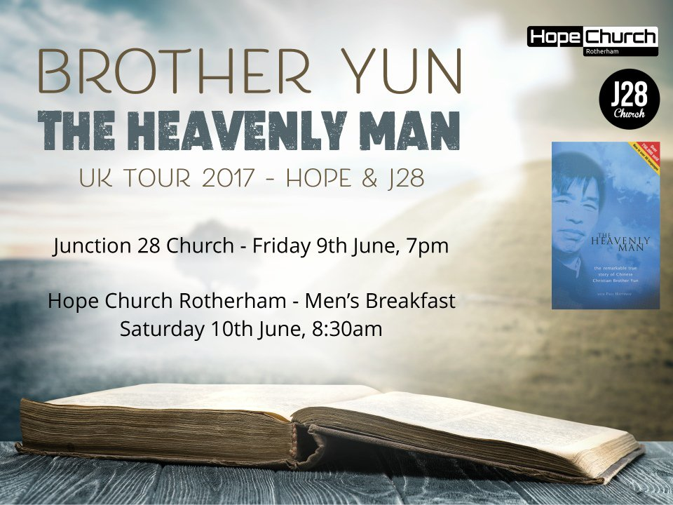 Tickets now released for the Heavenly Man at J28.  Visit https://t.co/YbPIirnJBx  or download the J28church app to book in.  Book in quick!