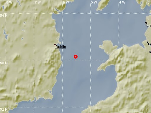 test Twitter Media - Thurs 18/5/17 - an earthquake with magnitude ML 1.3 occurred in the Irish Sea. Read about it here https://t.co/UvyFJh4xPq https://t.co/EdigMwJc7J