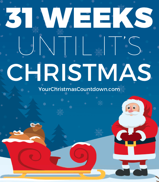 31 weeks until christmas httpyourchristmascountdowncom pictwittercomvnoxzqoeeh - Weeks Until Christmas