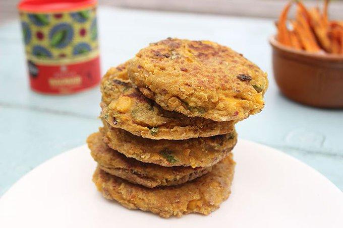 Aduna Baobab, Turmeric & Sweetcorn Fritters