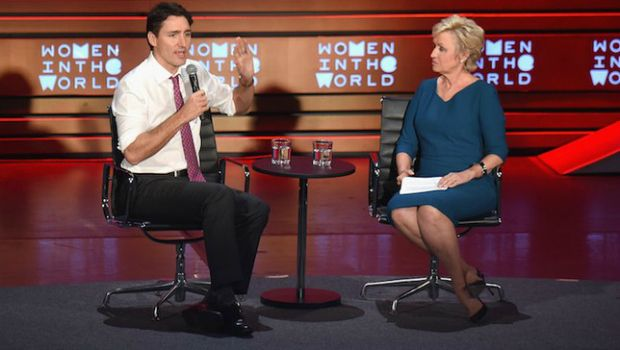 .@JustinTrudeau says promoting women is 'the smartest possible thing t...