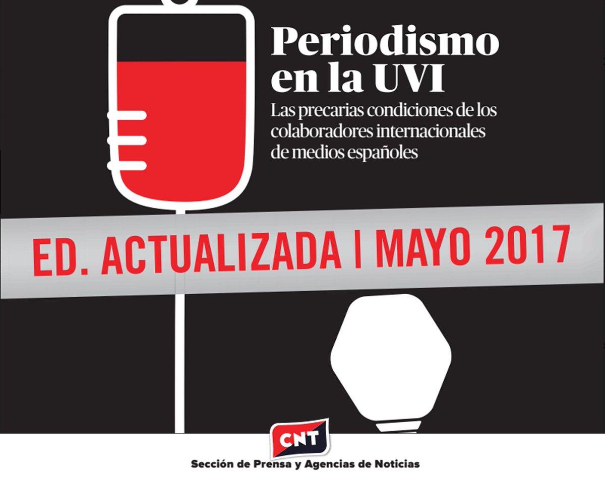 Presentamos versión del informe #PeriodismoEnLaUVI, actualizada a mayo de 2017: