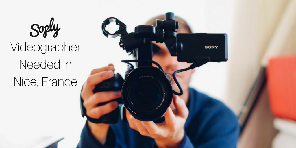 #Videographer needed for a #promotional #video in #Nice #France. See more info and apply here:   http:// soply.co/2rHnaOI  &nbsp;   #freelance<br>http://pic.twitter.com/MhEDLYJIaM