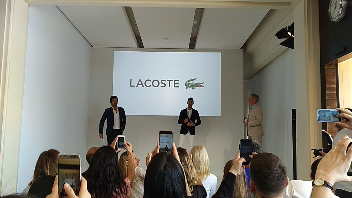 OFFICIAL: Novak Djokovic is now sponsored by Lacoste, after the end of his 5 year deal with Uniqlo. https://t.co/tGQImsi6VJ