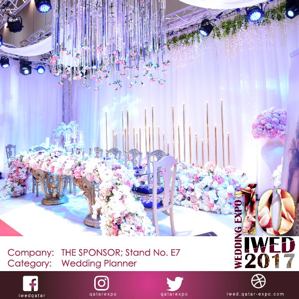 Qatar expo on twitter visit the sponsor stand e7 in iwed2017 qatar expo on twitter visit the sponsor stand e7 in iwed2017 wedding planners are here to help you make your wedding perfectly junglespirit Image collections