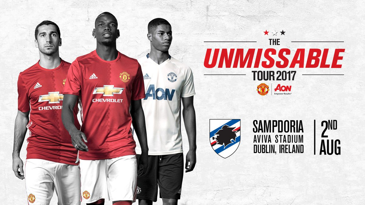 Image result for Manchester United vs Sampdoria live pic logo