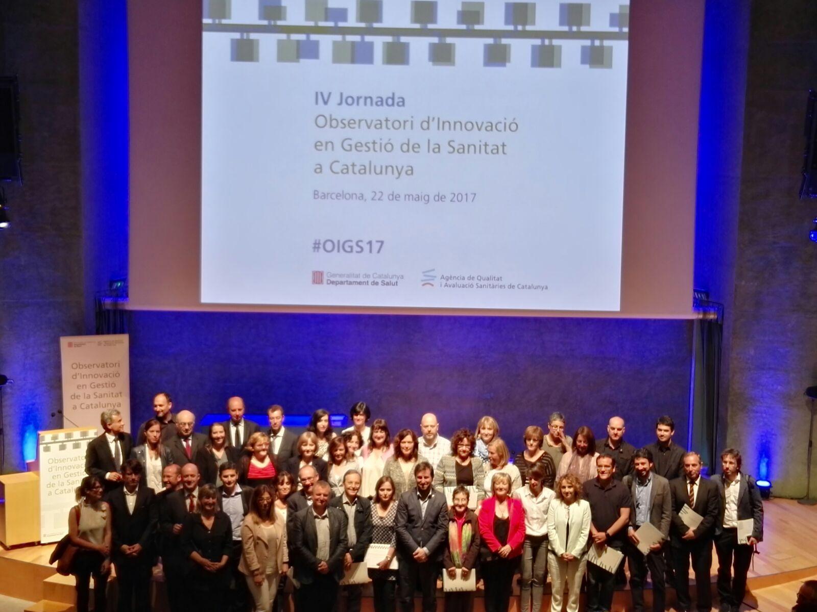 Felicitats representants experiències innovadores certificades, ponents i equip #oigs17 https://t.co/qx3dAGnYCG