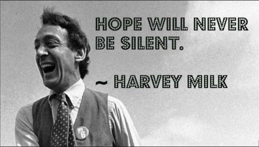 Happy birthday, Harvey Milk.