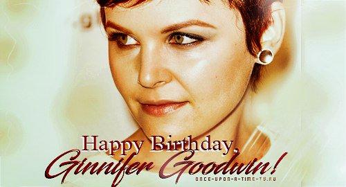 Happy Birthday, Ginnifer Goodwin! -