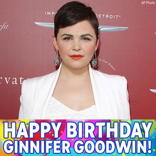 Happy Birthday, Ginnifer Goodwin!