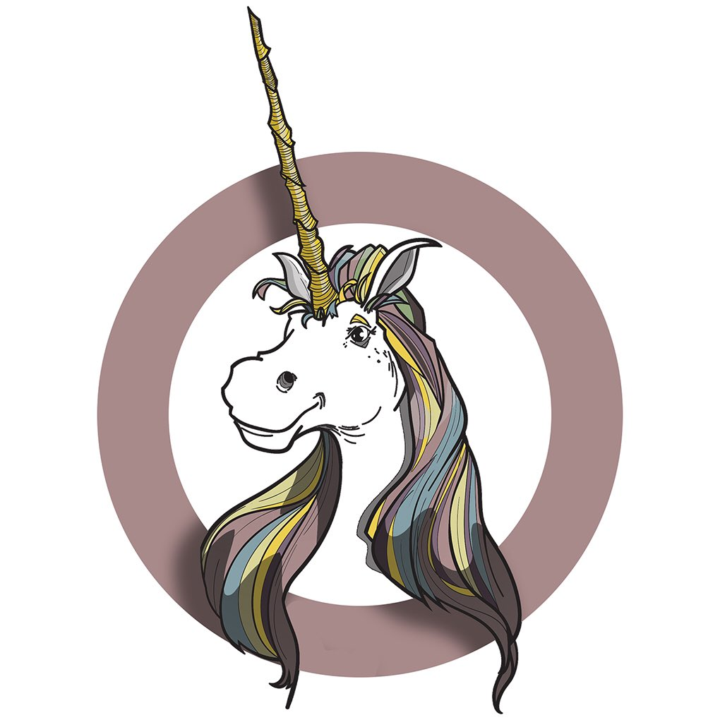Revisiting Sara&#39;s #unicorn as a digital #illustration to use it in some other ways #drawing #doodlebags #nashville #art<br>http://pic.twitter.com/bHnwxlXzvv