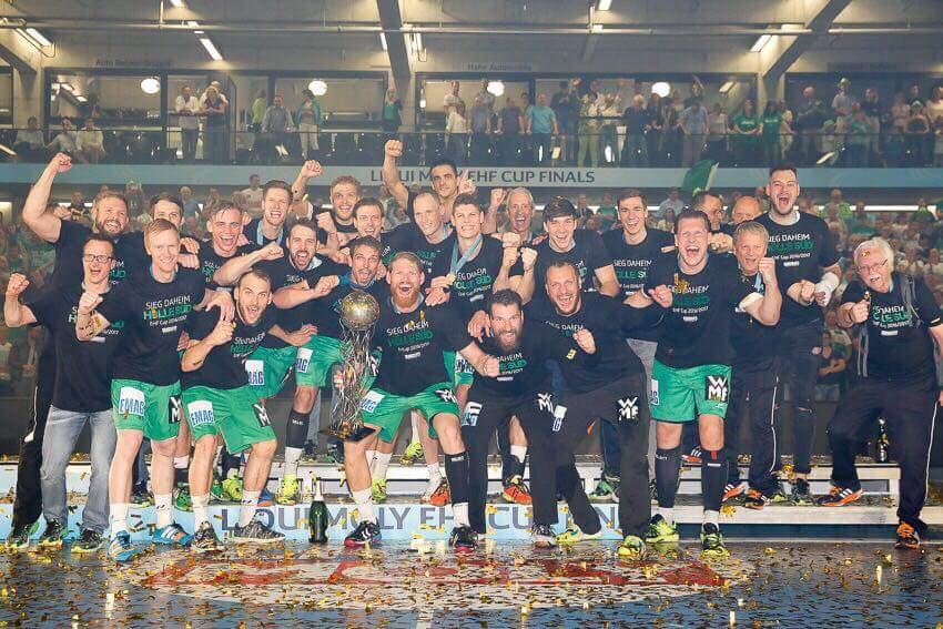 FRISCH AUF! Göppingen - Winner of the LIQUI MOLY EHF Cup Finals #handball https://t.co/cZD3pOdjFK
