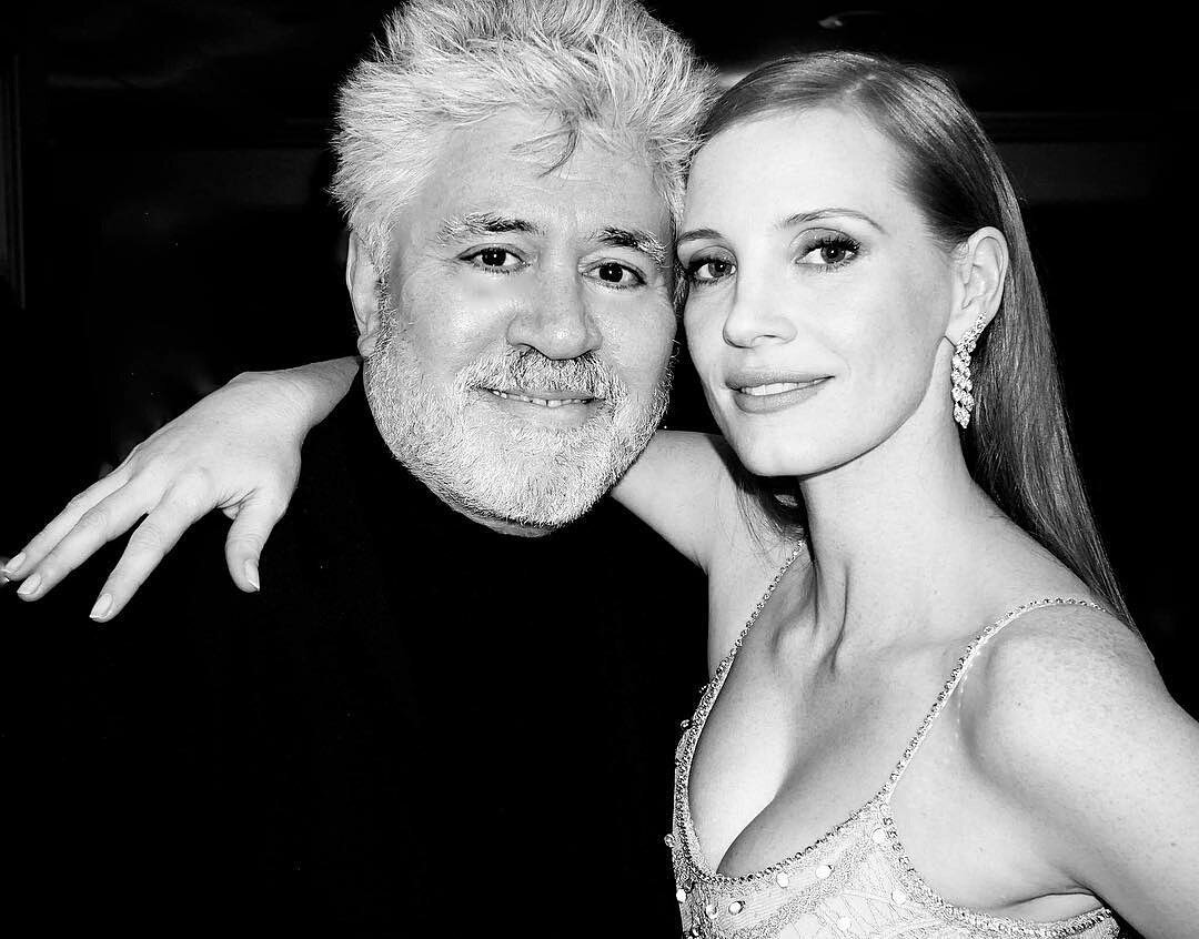 ❤ My one and only president ❤ #PedroAlmodovar #CannesJury #Cannes2017