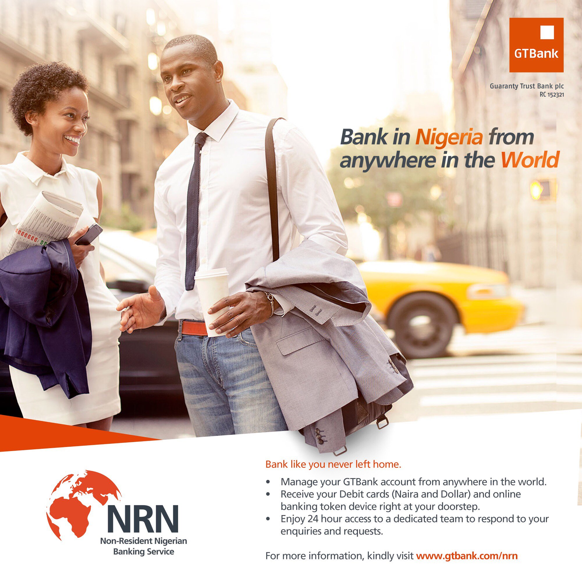 Guaranty Trust Bank on Twitter Bank like you never left home