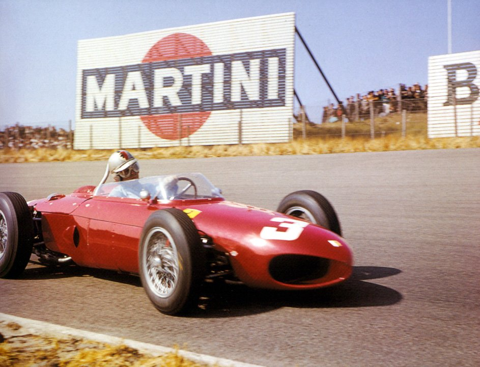 #OnThisDay in 1961 in the #DutchGP at Zandvoort, Wolfgang von Trips in Ferrari 156 scored his 1st win in #F1 https://t.co/mcL12AOatg