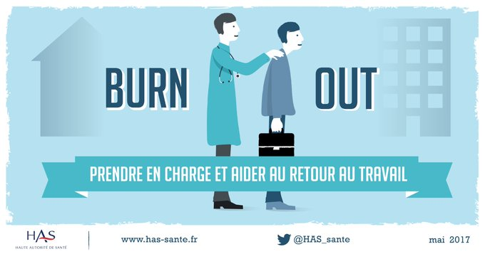 Burn-out : adapter la prise en charge à chaque individu, accompagner le retour au travail >  https://t.co/Qj0yHvR3YR#burnout