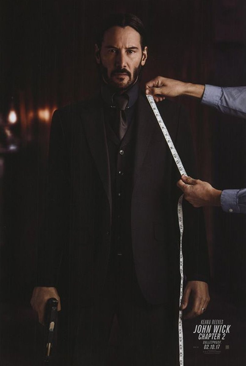#JohnWick2 #MoviePoster&#39;s for only $10    Bring the action home:  http:// buff.ly/2r0GcTa  &nbsp;  <br>http://pic.twitter.com/AdJGSjKXcC