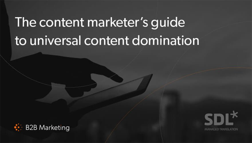 5 ways to boost your content for foreign markets https://t.co/6kEKhUvhVw [FREE REPORT] @SDL https://t.co/rAxqYqEyAz