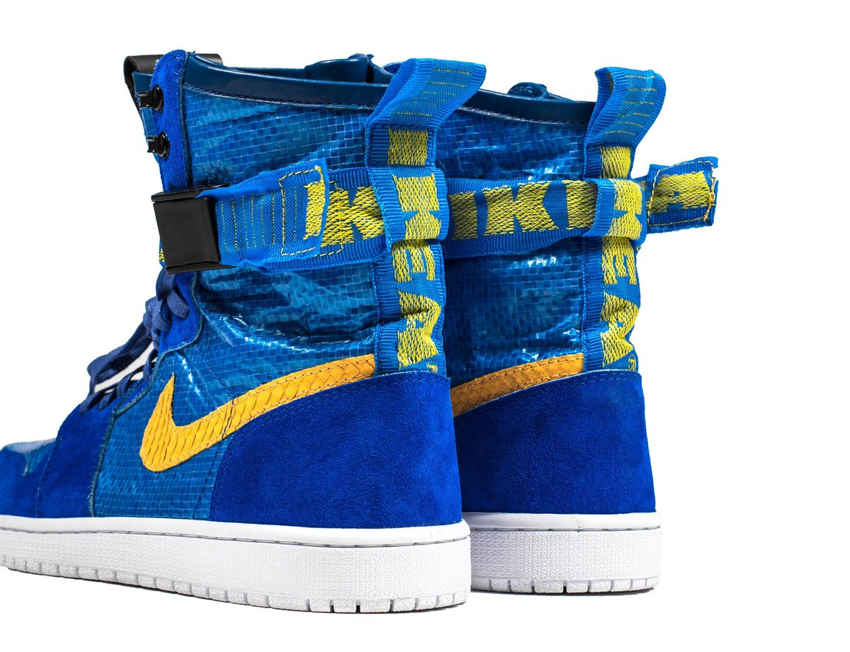 top fashion f300f f493d these ikea air jordan 1 customs cost more than a norsborg sectional