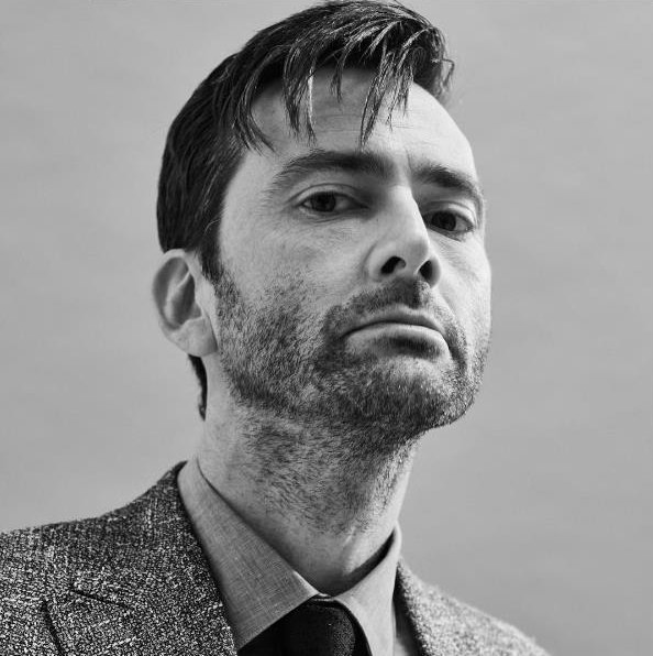 A great outtake photo of David Tennant from The Times photoshoot