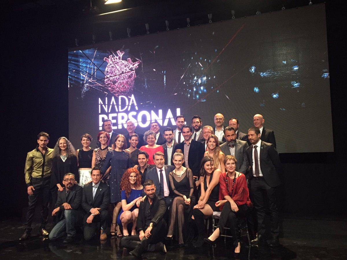 #NadaPersonal volverá a hacer historia con un gran elenco. https://t.c...