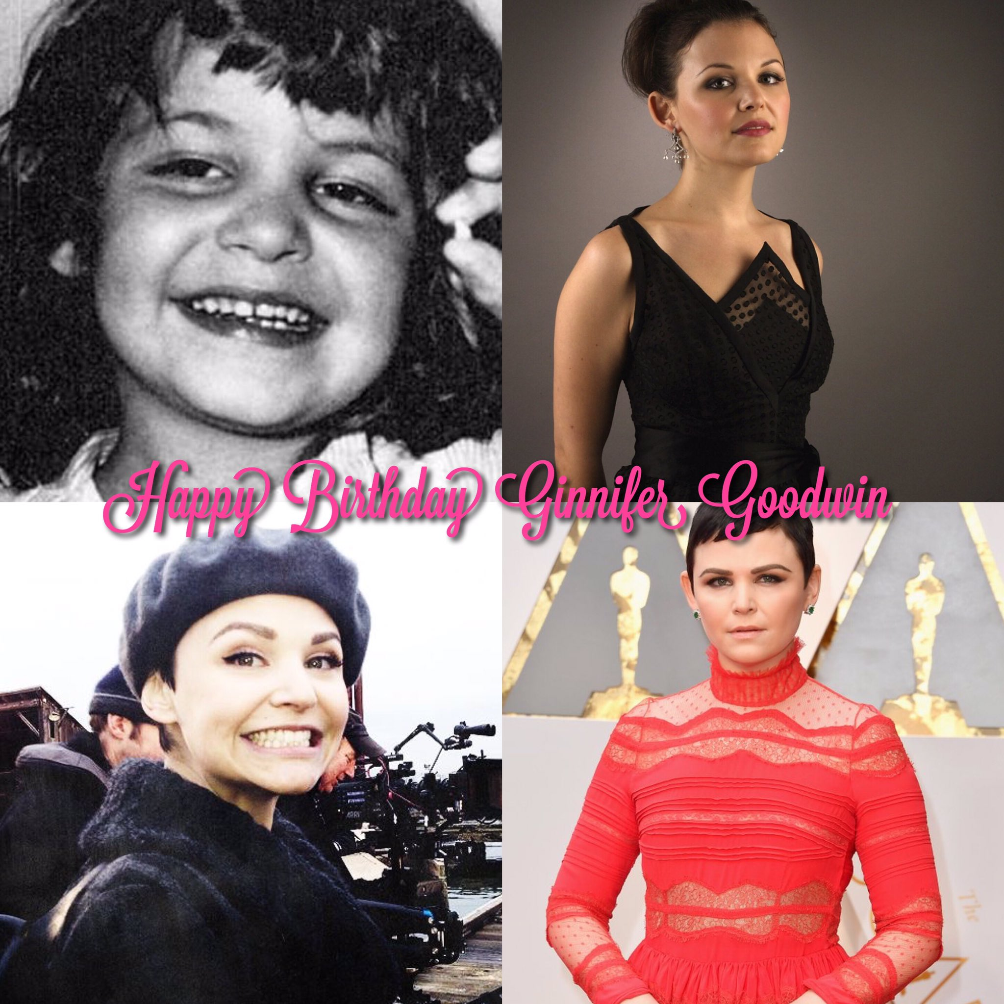 Happy Birthday to one of my favorite actresses: the talented, funny and beautiful Ginnifer Goodwin!