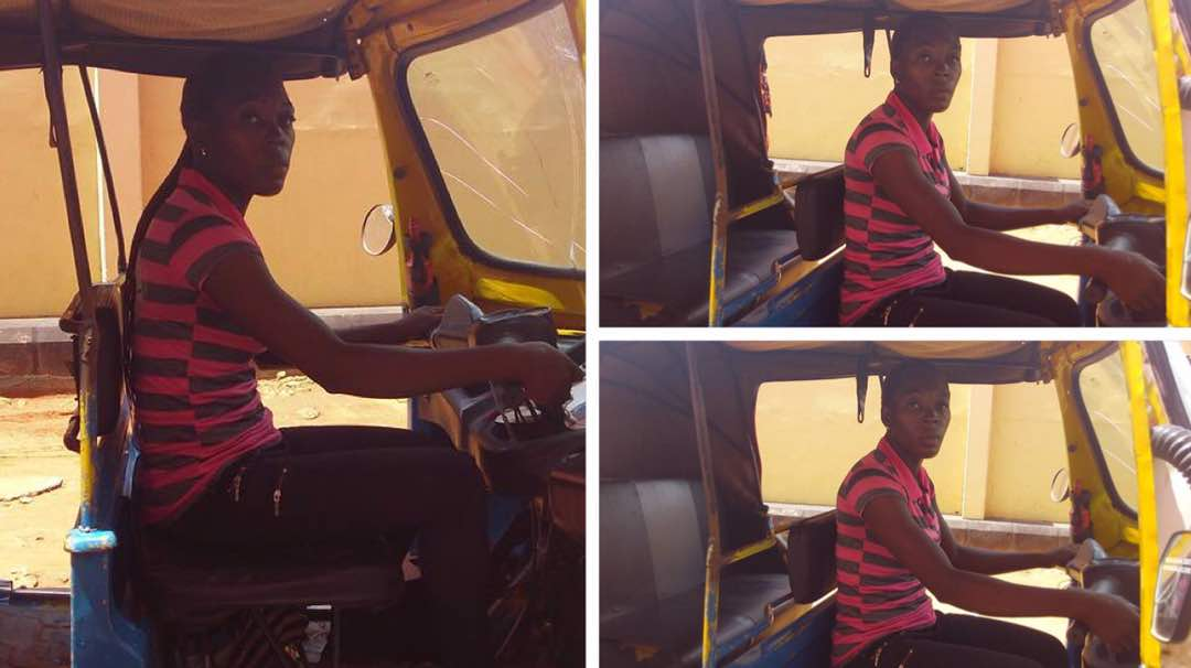test Twitter Media - Meet female tricycle rider who is the chairman of tricycle riders association in Asaba (Photo) https://t.co/pB44IEWOuE https://t.co/2Fx2H9ovQQ
