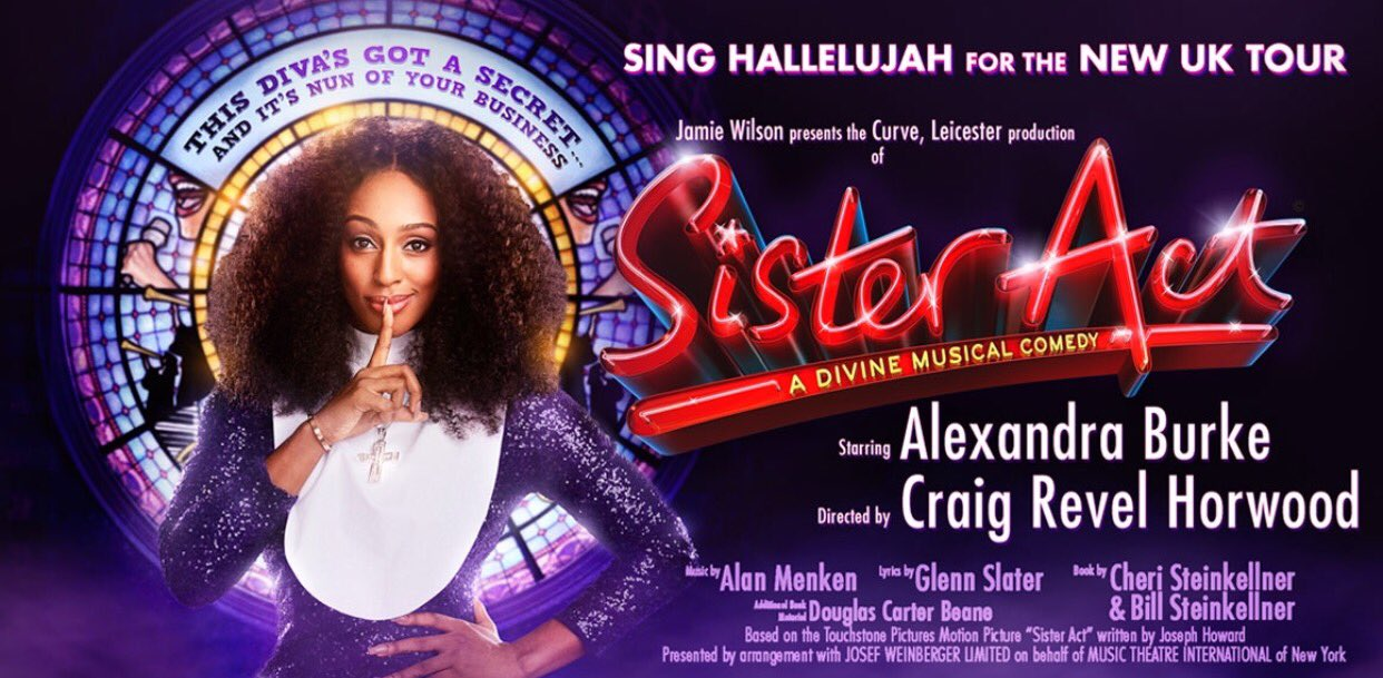 RT @InsideNWales: Full house here at @VenueCymru for the opening night of @SisterActUKTour staring @alexandramusic. https://t.co/eDsS0U0jAP