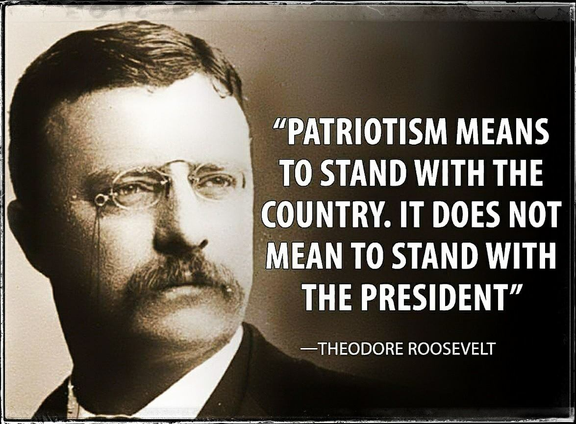 I think Teddy was absolutely right ... #mondaymotivation #ComeyHearing