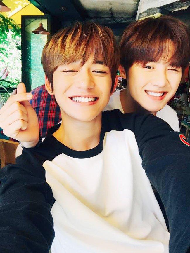 Cute babies smiling with dimples