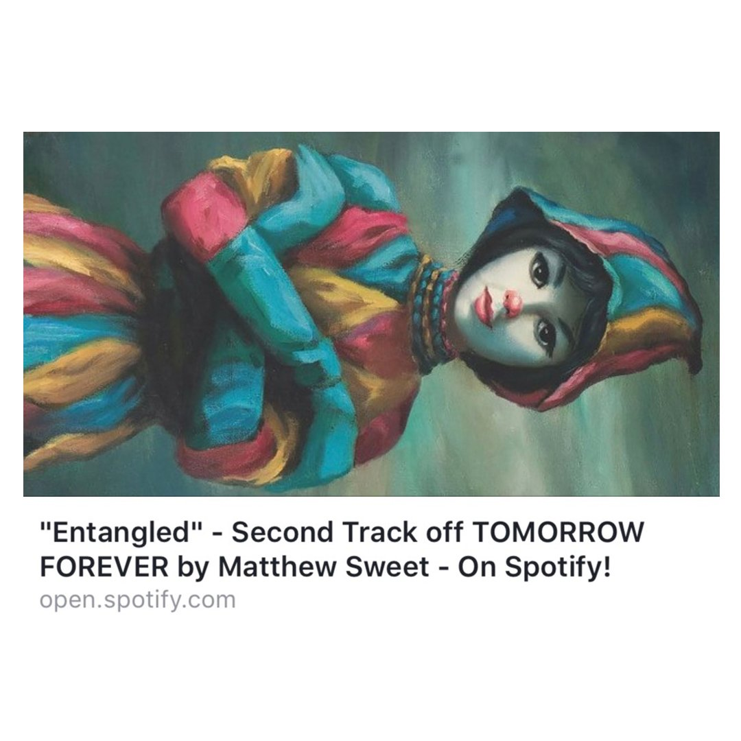 Matthew Sweet On Twitter Second Track Called Entangled