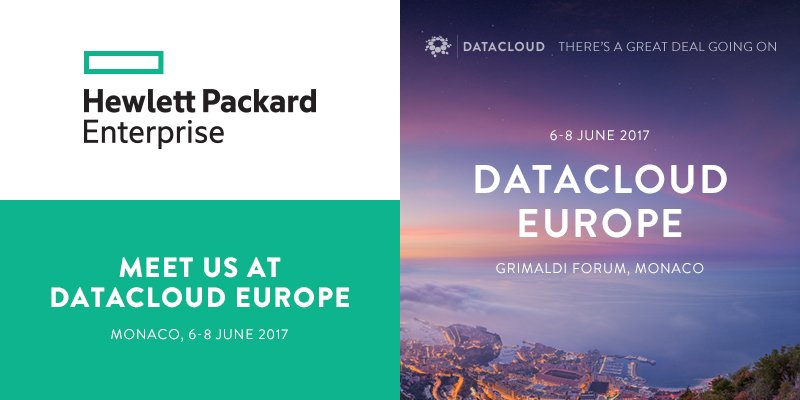 Delighted to welcome @HPE to #DCE17 in #Monaco. Meet them &amp; discuss how technology innovation fosters business transformation @HPE_Cloud<br>http://pic.twitter.com/DKGciiKrLj