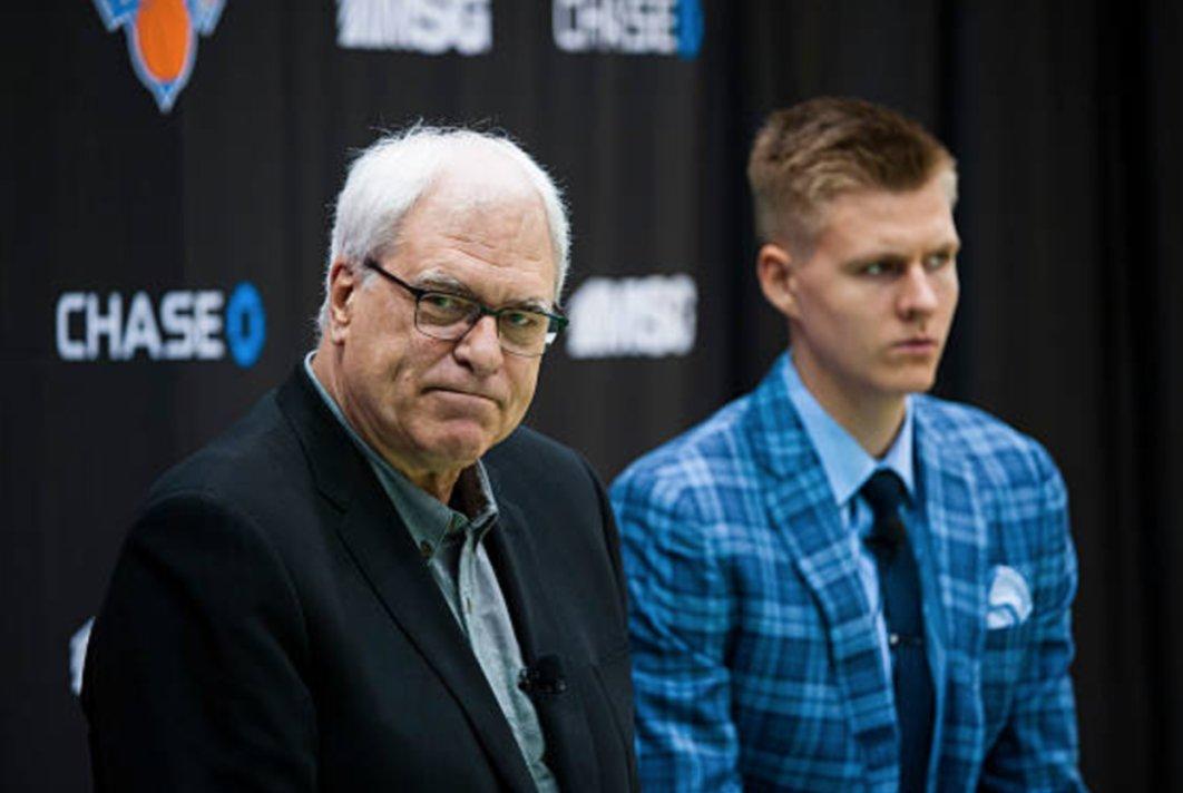 Phil Jackson continues to be an asshole, fires Kristaps Porzingis' favorite assistant coach