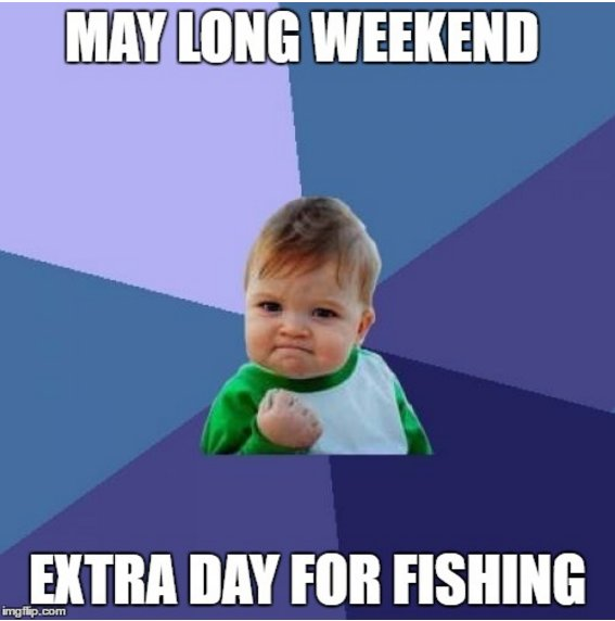 We hope you all enjoy the day off-- Make sure to get some fishing done!  #slims #cabins #fishing #maylongweekend #timetofish<br>http://pic.twitter.com/pJgc3QZm5z