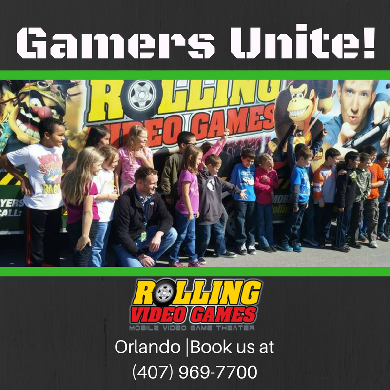 For gamers unite