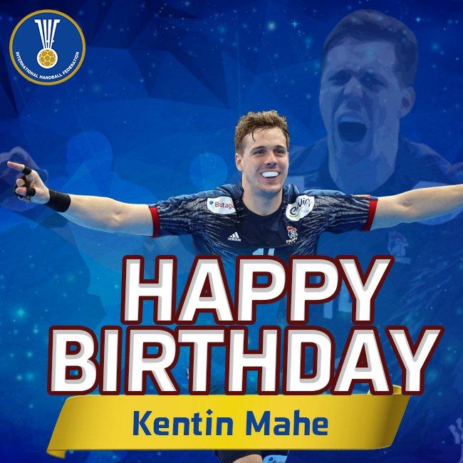 Happy birthday KENTIN MAHÉ!  #JoyeuxAnniversaire #IHF #Handball #France  <br>http://pic.twitter.com/zT6uIEx09b