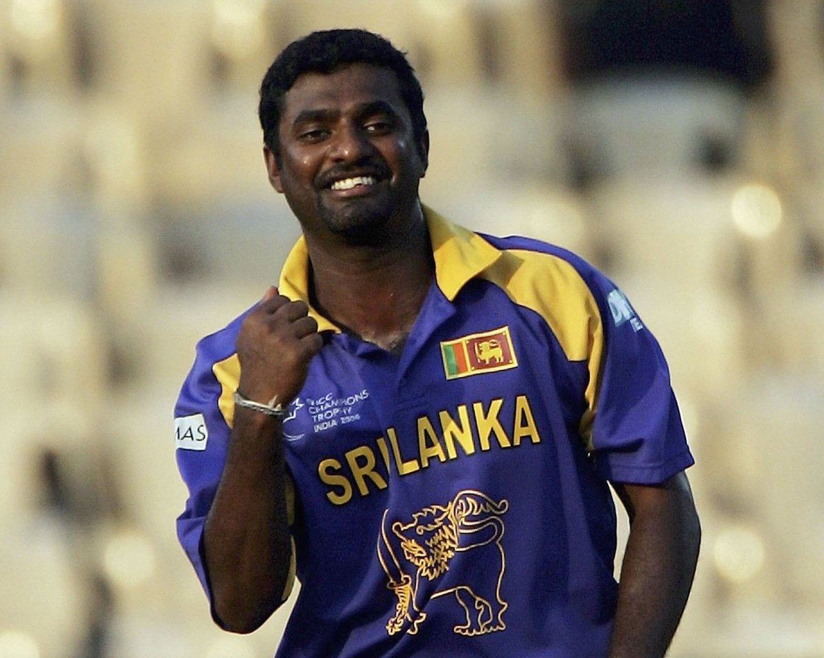 test Twitter Media - 9 days until #CT17!   Muttiah Muralitharan bowled 10 overs for just 9 runs against West Indies at the 2000 edition! 🇱🇰 https://t.co/sUZD52OJzg