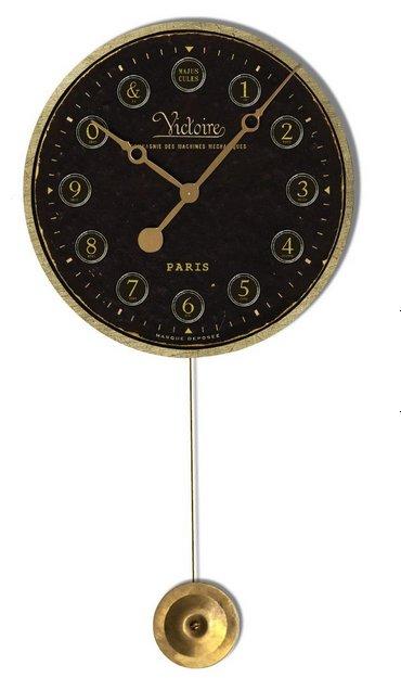 Reproduction clock dials