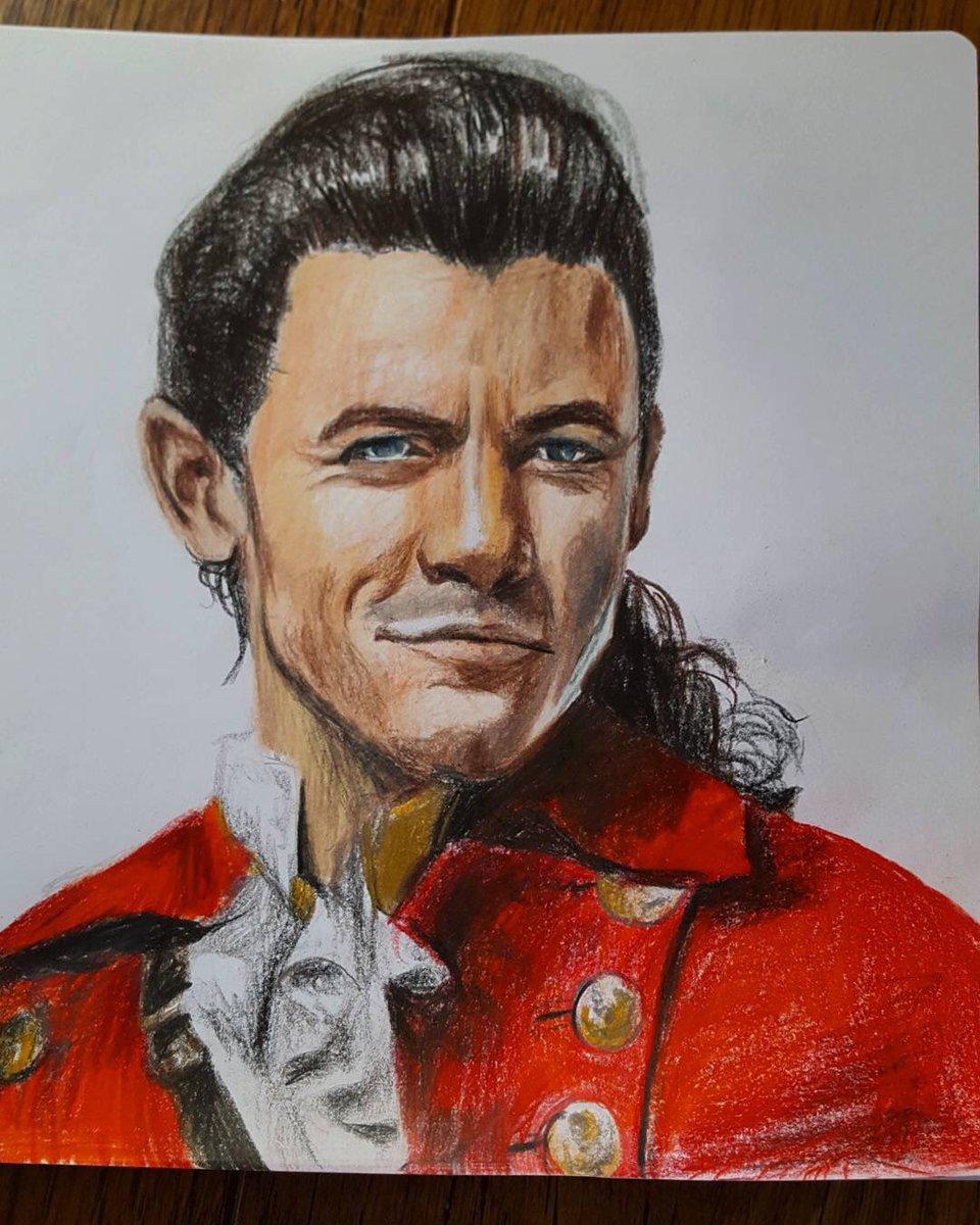 Great Gaston fan art by amateur.doodler  https:// instagram.com/p/BUZllaNFNxl/  &nbsp;   #BeautyAndTheBeast #Gaston #LukeEvans<br>http://pic.twitter.com/dLtHFNgIDJ