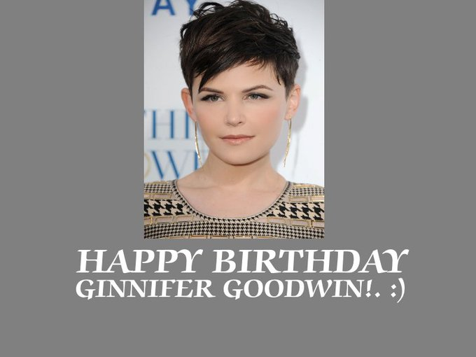Happy Birthday Ginnifer Goodwin!. :)