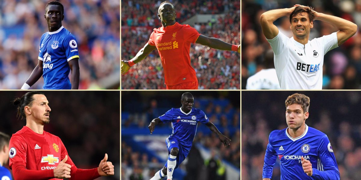 Who is your @premierleague signing of the season? #Gueye #Mane #Llorente #Zlatan #Kante #Alonso<br>http://pic.twitter.com/XnQkQ5EX6g