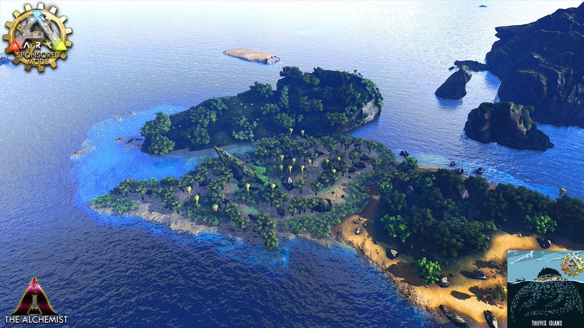 Thieves Island Ark Map – HD Wallpapers